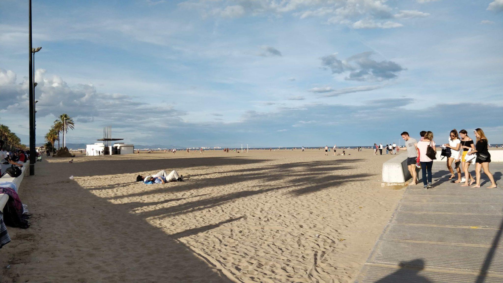 Valencia Cabanyal plajı
