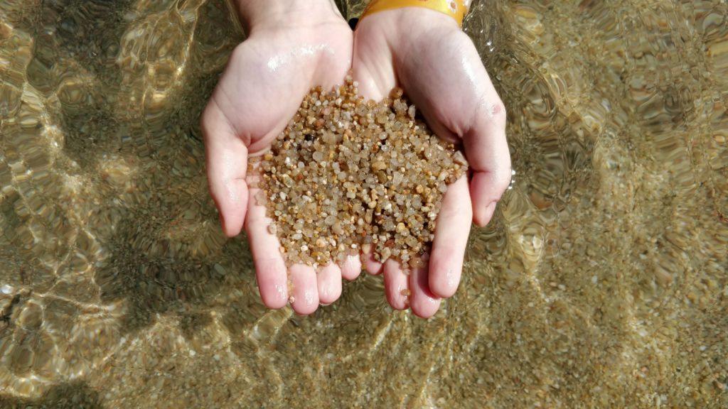 costa brava sand